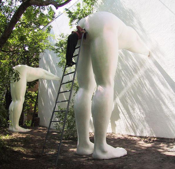 Installation by David Cerny