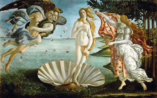 """The birth of Venus"" - Boticelli"