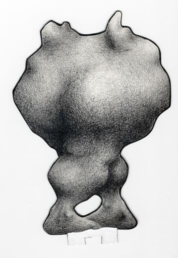 Estudio para escultura plana, estilo clásico